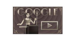 Doodle Clara Rockmore